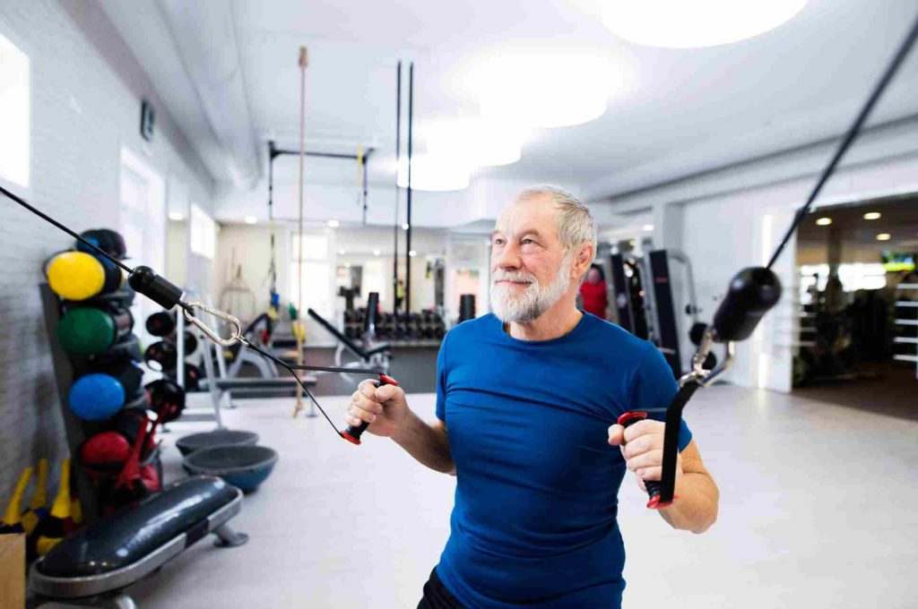 50+ fitness fitale man